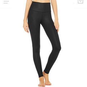 Alo Yoga High Waist Black Airlift Legging